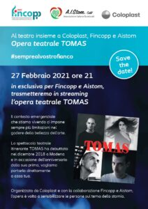 A teatro con Fincopp e Aistom: Tomas!