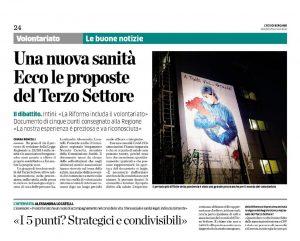 Read more about the article Fincopp con trentuno associazioni e CSV