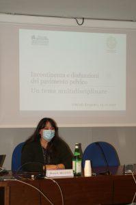 La Dott.ssa Eugenia Belotti apre i lavori